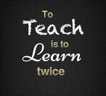 Teaching is Twice as Learning