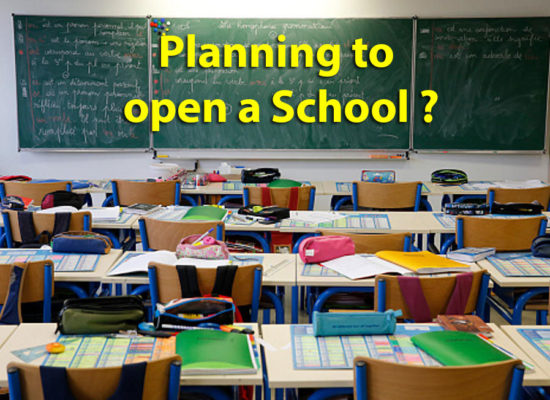 Planning to open a School ?
